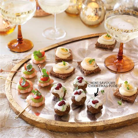 mini canape ideas mini savoury puds canape recipes housekeeping