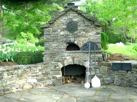 How To Build An Outdoor Stone Fireplace Build Your Own