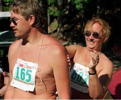Nudist Optional Bare Run Buns Nudists Hike