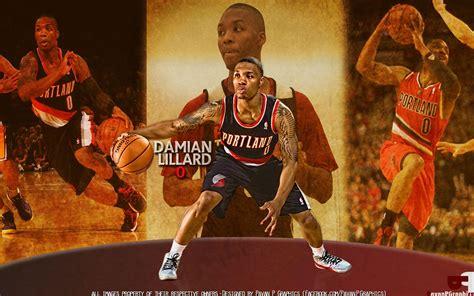 Damian Lillard Background Damian Lillard Wallpapers Wallpaper Cave