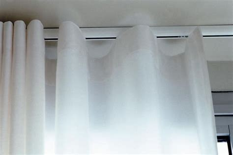 drapery tracks from the ceiling best 25 ceiling mounted curtain track ideas on