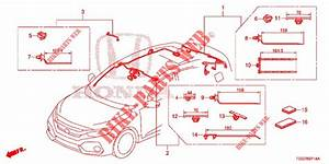 Wire Harness  5   Rh  For Honda Cars Civic Type R 5 Doors