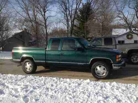 how petrol cars work 1996 gmc 1500 user handbook sell used 1996 gmc chevy sierra k 1500 sle 4wd ext cab pickup 5 7 l v8 in roscoe illinois