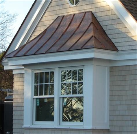 copper standing seam roof  window traditional exterior boston  aspen roofing