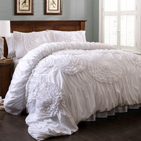 3 piece lavinia comforter set in white cuartos
