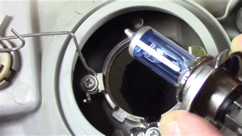 hyundai accent headlight l removal replacement and