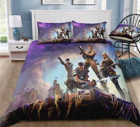 fortnite  piece bed set giftcartoon