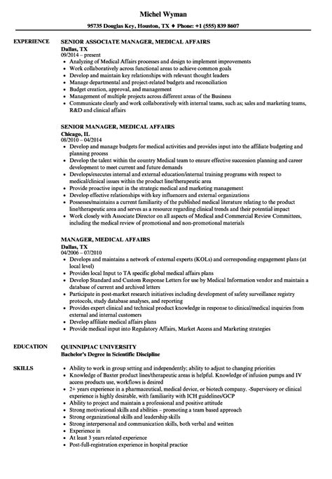Manager, Medical Affairs Resume Samples  Velvet Jobs. Best Job Resumes. Informal Resume Format. How To Write A High School Resume. Resume For Promotion. Date Of Birth Format In Resume. Part Time Job Resume. Positive Skills For Resume. Resume In Latex