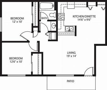 Garage Plans Bedroom Apartment Floor Apartments Bath