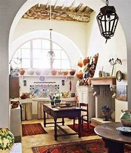 15 Captivating Bohemian Chic Kitchen Design Ideas - Rilane