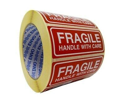50 stück aufkleber etikett vorsicht zerbrechlich paket karton. Post Ausdruck Vorsicht Zerbrechlich - Bitte Nicht Werfen ...