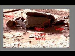 Fossilized Aliens Body Discovered In NASA Curiosity Rover ...
