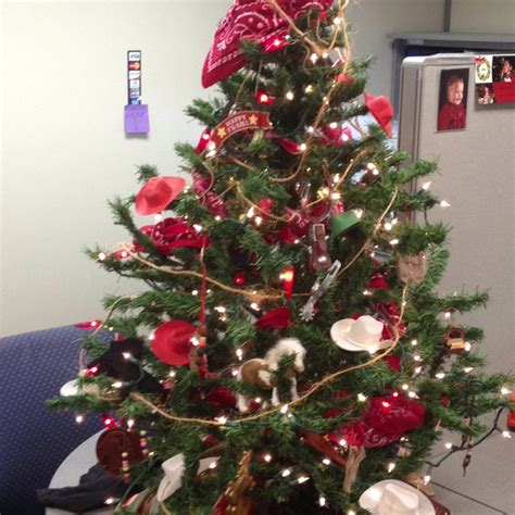 western christmas tree dyi pinterest