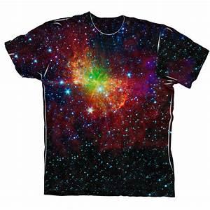 Yizzam- Space Galaxy Dumbell Nebula - New Men Unisex Tee ...