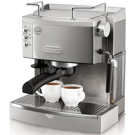 coffee espresso machine shop de longhi stainless steel manual espresso machine at lowes com