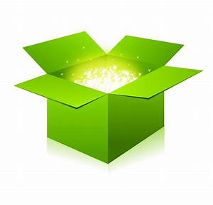 Glowing Green Box  133096  Free Ai  Eps Download    4 Vector