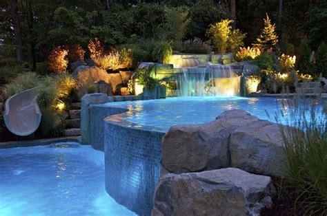 nj pool company debuts  pool features  luxury swimming pools