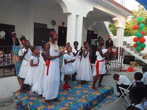 christmas  haiti children   nations