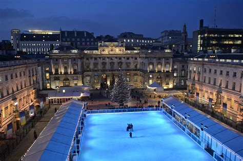 skate launch party  somerset house london party report