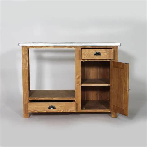 meuble cuisine cing meuble de cuisine en bois pour four et plaques cagne