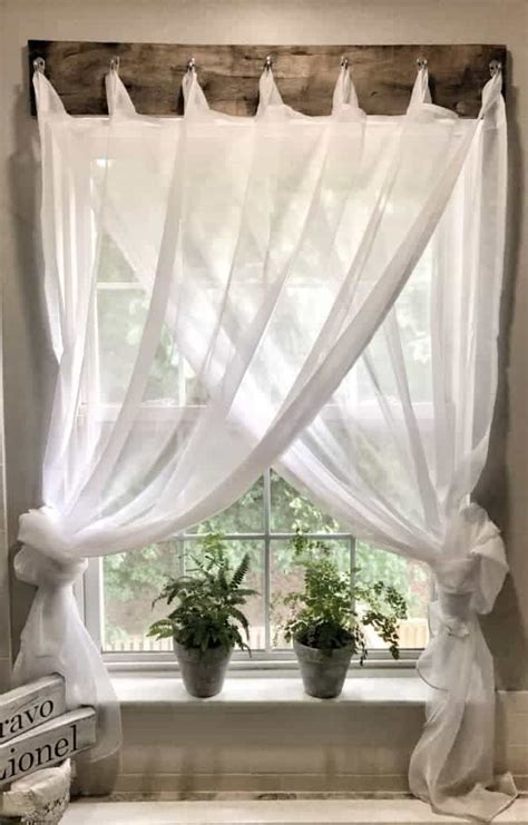 simple farmhouse window treatments maria louise design
