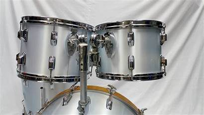 Drum Rogers Xp8 Londoner Silver Mist Kit