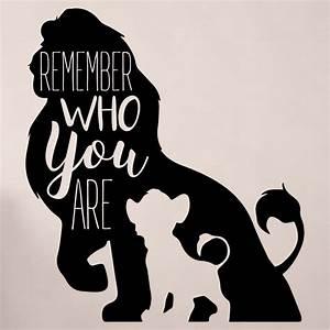 Simba Wall Decor - Disney The Lion King Decor- Remember