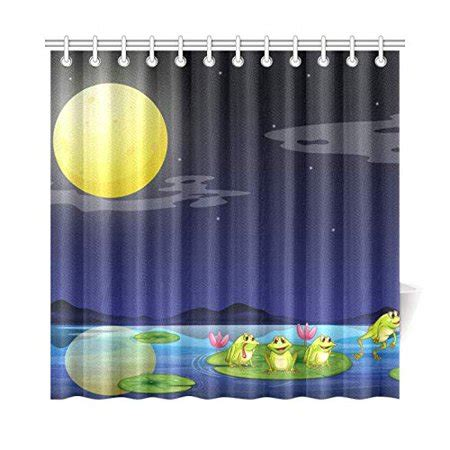 mkhert frog shower curtain home decor bathroom shower