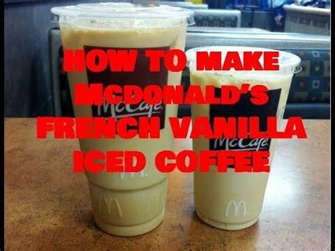 Mcdonald s caramel iced coffee large photo. How to Make McDonald's French Vanilla Iced Coffee - YouTube