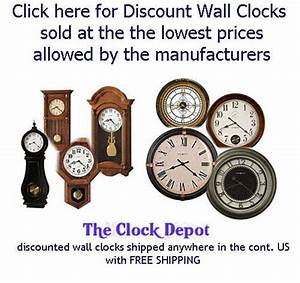Howard Miller Wall Clock Instructions