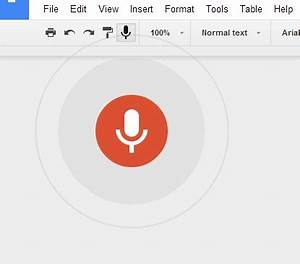 voice to text dictation is coming to the desktop version With google docs speech to text android