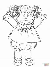 Cabbage Patch Coloring Colorear Doll Printable Dibujos Dolls Boneca Pano Pop Kleurplaat Muneca Dibujo Trapo Rag Supercoloring Gratis Repollo Sheets sketch template