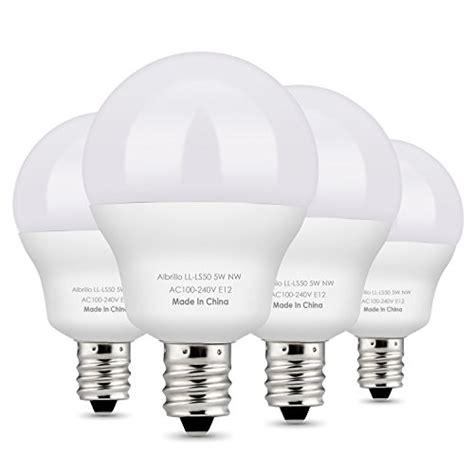 albrillo e12 bulb candelabra led bulbs 5w 40 watt