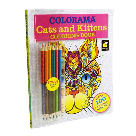 as seen on tv colorama cats kittens coloring book shop