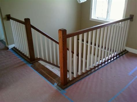 Indoor Banisters And Railings by Interior Stair Railing Provided By Vanderhoff Construction