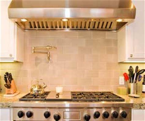 Pasta Pot Filler Faucet  Tile Blacsplash  Wolf Range