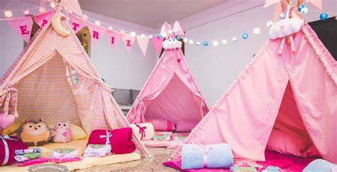 karas party ideas pajama sleepover themed birthday party
