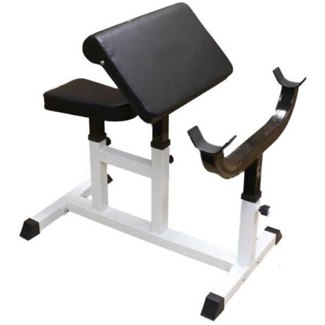Preacher Curl Dumbbell Biceptricep Bench Arm Weight