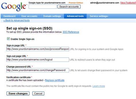 Generating Keys And Certificates For Google Apps Sso