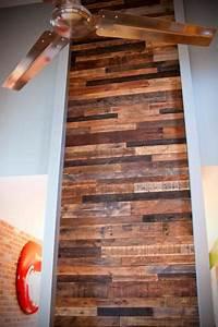 Mur En Bois Intérieur Decoratif : comment faire un mur en bois de palette ~ Teatrodelosmanantiales.com Idées de Décoration