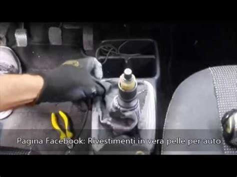 Guida SMONTAGGIO / MONTAGGIO pomello e cuffia leva cambio ...