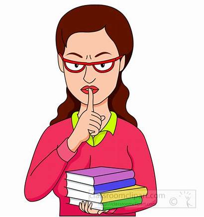 Quiet Lips Clipart Librarian Fingers Clip Library