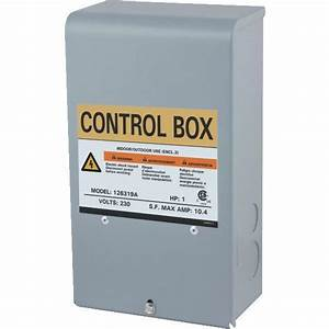 Star Water Sys Pump Motor Control Box 3 Wire Submersible
