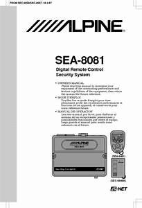 Sea-8448a Manuals