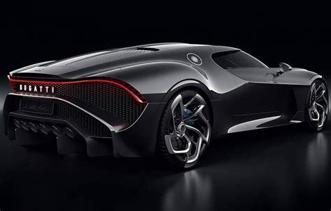 bugatti la voiture noire  novo carro mais caro  mundo