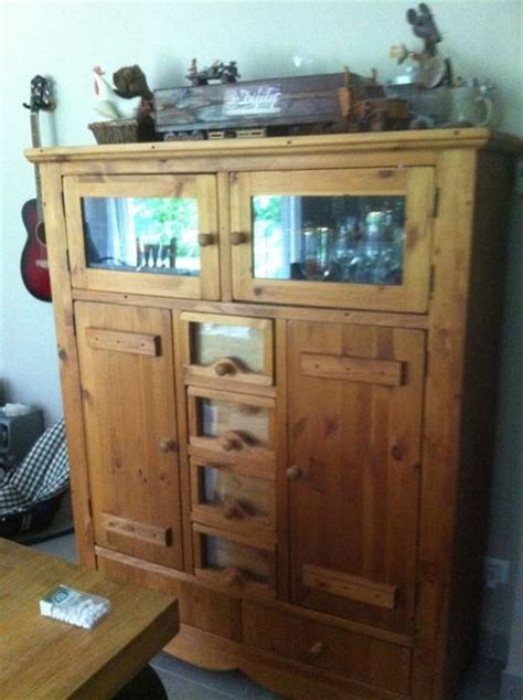 vends armoire pin miell cocktail scandinave clasf