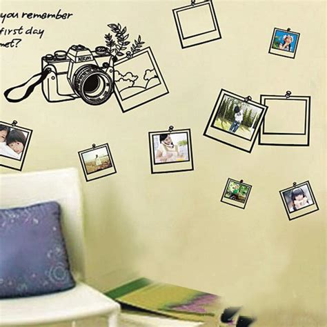Brand New 2017 Wall Stickers For Kids Rooms Photo Frame