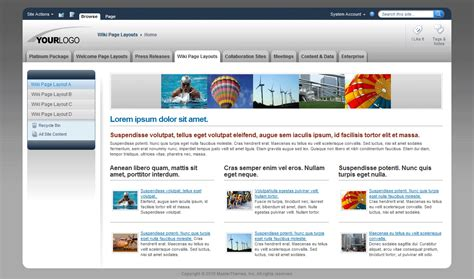 sharepoint 2013 site templates sharepoint 2013 site templates free images template