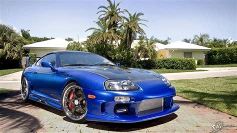 Toyota Supra, Toyota, Supra, Miami, Car, Blue Cars