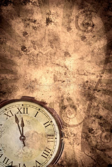 Time grunge background stock illustration. Illustration of ...